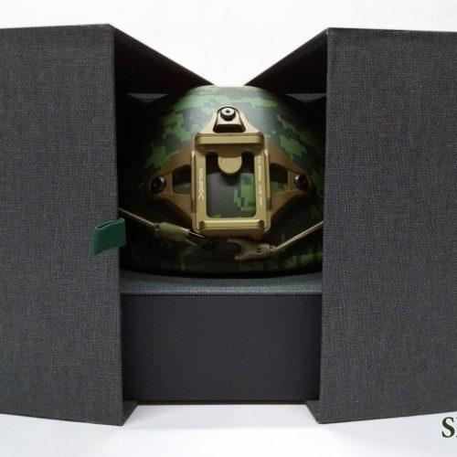 Caja para exhibidor para casco